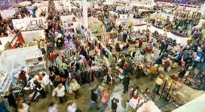 Bizarre Bazaar show floor